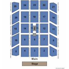 Rivers Casino Event Center Seating Chart Twin Rivers Casino Events