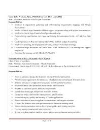 People Soft Consultant Resume Magnificent Peoplesoft Finance Functional Resume Talktomartyb