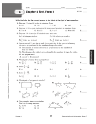 Trigonometry has many useful formulas. Glencoe Precalculus Chapter 4 Answer Key Fill Out And Sign Printable Pdf Template Signnow