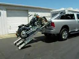 Motorcycle and Trike Loader for Pickups and RV's - YouTube