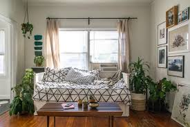 laying out a studio apartment