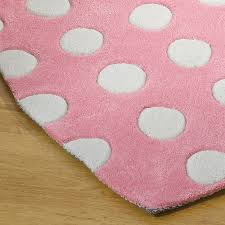 children s rug polka heart rug