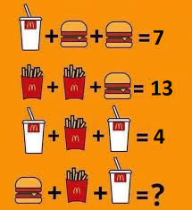 have a go at solving it there s an easy way and a pen and paper way feel free to comment below about how you found it and how hungry it made you