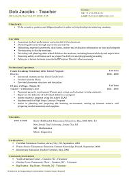 Gallery Of Elementary Teacher Resume Hashdoc Resume Examples