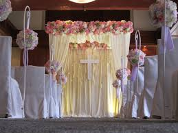 Of Wedding Decorations In Church Blog Archive A Church Setting Lovely Decor In Wedding Ceremony