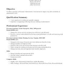 Career Overview Resume Mesmerizing A Good Resume Example Customer Service Objective For Fascinating