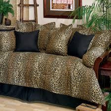 leopard daybed set