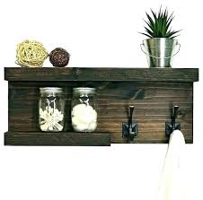 wooden shelf with pegs with hooks and baskets shelf wall ornate wooden shelf brackets uk wooden shelf