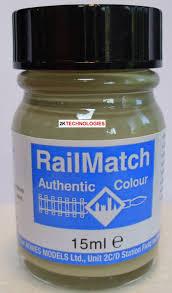 Railmatch Paints Colour Chart Railmatch 422 Concrete General Colour Enamel New 15ml Jar
