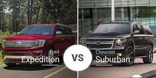 2019 Suburban Color Chart Ford Expedition Vs Chevy Suburban Big Suv Slugfest