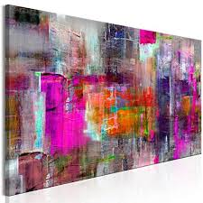 Nepinetwork Murando Image 135x45 Cm Colours To Choose Image Printed On Canvas Amazon Uk Large Abstract Canvas Wall Art Amazoncouk