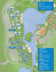 april  walt disney world resort hotel maps  photo  of