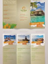 Fun Brochure Templates Fun Travel Trifold Brochure Travel Brochure Template