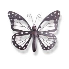 decorative dark metal butterfly garden wall art feature on insect garden wall art with buy decorative dark metal butterfly garden wall art feature from our
