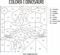 Conta E Colora Disegni Da Colorare In Base Ai Numeri