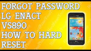 Forgot Password LG Enact VS890 How To ...
