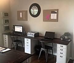best 25 2 person desk ideas on two person desk home for brilliant household 2 person desk plan