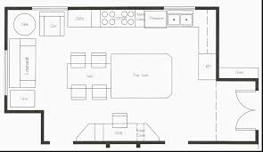034 Restaurant Floor Plan Template Clever Table Layout Of