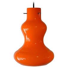 italian pendant lighting. Orange Italian Murano Glass Pendant Light, Mid-Century Modern, 1950s | 1stdibs. Lighting