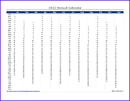 Yearly Calendar Template Excel – Asusdrivers.info