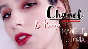 kristen stewart chanel le rouge fall 2016 holiday makeup tutorial farah asif