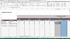 Create A Budget Worksheet Tutorial How To Use The Budget Template