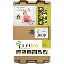 Paintbox Color Collection Baby Kids Baby Blau Seidenmatt 2 5 L