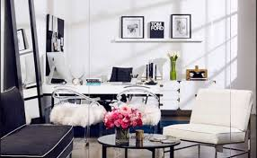 chic home office. Boho \u2013 Modern Chic Home Office Redo E
