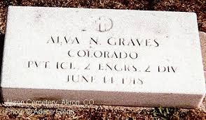 PFC Alva N Graves