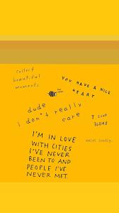 47+] Yellow Aesthetic Wallpaper on ...