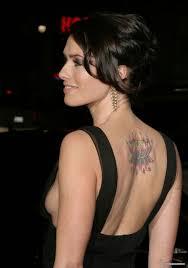 татуировки для девушек на теле маленькие и большие и их значение на