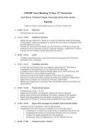 Meeting Agenda Template Doc Sample Staff Office Creating A