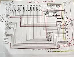 ecu diagnostics 1976 datsun 280z nissan 280z Engine Wiring Harness the 280z's fuel injection wiring schematic is very simple this example includes my hand 280z engine wiring harness diagram