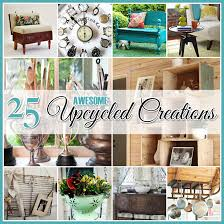 Let's take a peek at some fun and useful UPCYCLED DIY PROJECTS and find out  how easy it is to breathe new life into old and ordinary items.