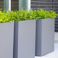 tall planter box tall narrow planters diy planter box designs simple minimalist garden pots