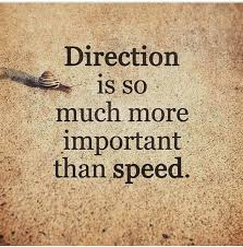 Direction Quotes Magnificent Direction Is So Much More Important Than Speed Picture Quote By