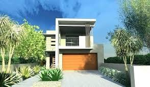 new garage under house plans or garage under house plans low cost narrow lot house plans