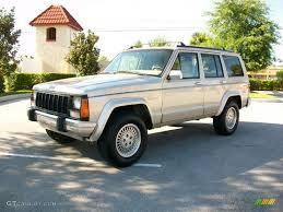 1996 Light Driftwood Metallic Jeep Cherokee Country #25752553 ...