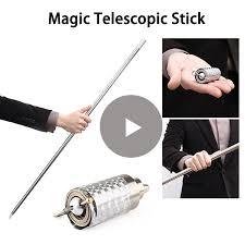 110cm/150cm <b>Portable</b> Telescopic Rod Martial Arts Metal Magic ...