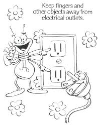 Vibrant Creative Electricity Coloring Pages Gebe Change A Bulb Free
