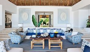 country living room blue country living room style with blue beach seating area with wooden tab