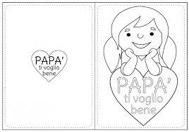 Disegni Per La Festa Del Papà Da Colorare E Stampare Page 2