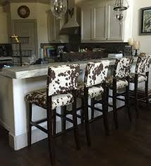 kitchen high chairs. Cowhide Bar Stool Western Country Rustic Kitchen High Chairs Sale