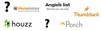 homeadvisor vs angie s list vs houzz vs