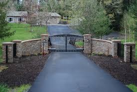 Stone Entry Gate Designs About Farm Entrance Entrance Gates Stone Driveway