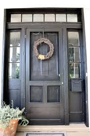 well i painted the front door black my love of black paint continues and i couldn t be happier with the front door