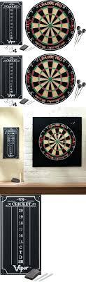 Dart Board Cabinet With Chalkboard Chalk Pens On Chalkboard Paint Dartboard With Four Darts Vector