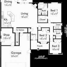 house plans with bonus room. Fine Plans House Plans With Bonus Room U2013 Over Garage H