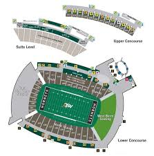 Asu Hornet Stadium Seating And Parking Maps Plus Slideshow