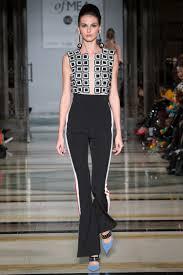 Geometric Fashion Designers Geometric Appliqued Jumpsuit Vidhi Wadhwani Designers